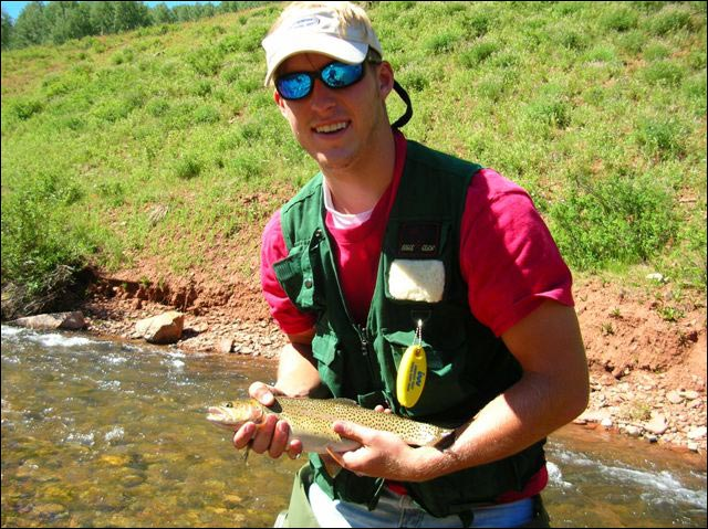 Flyfishing in southwest colorado near dolores and for Colorado fishing trips